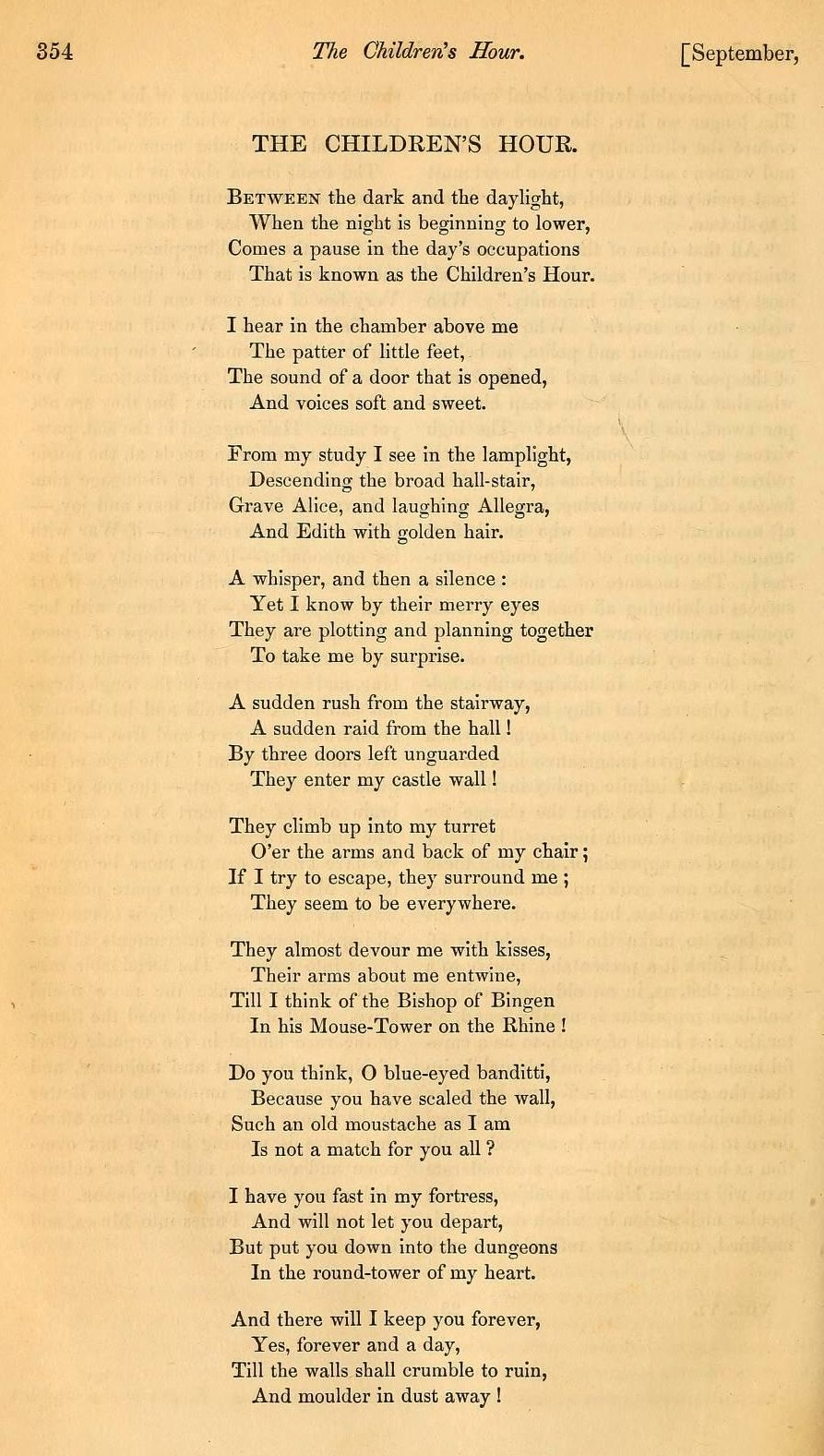 The poetry of A. A. Fet. Analysis of the poem I will not tell you anything