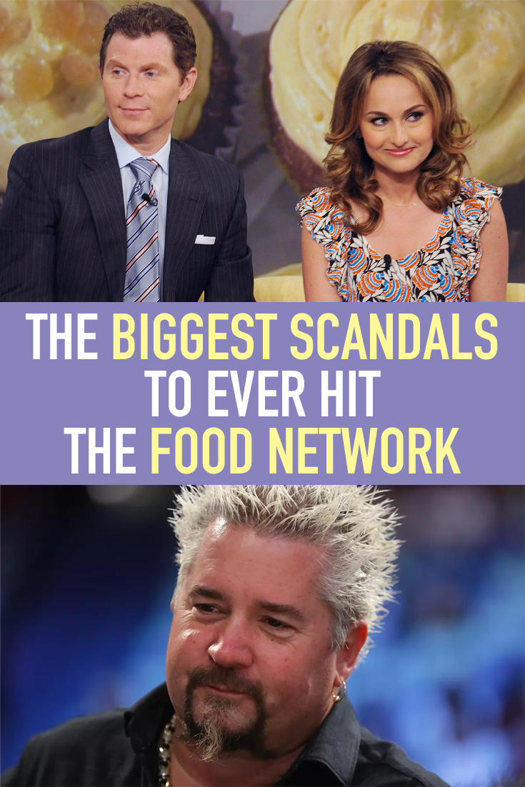 The Biggest Scandals To Ever Hit The Food Network