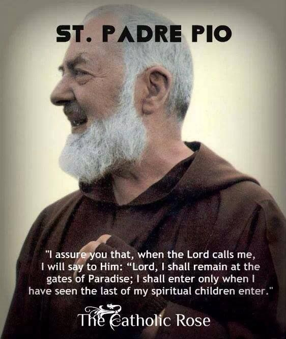 Padre Pio Quotes Cool Stpadre Pio #catholic #saint #quote #padre #pio  How He Loves Us . Inspiration Design