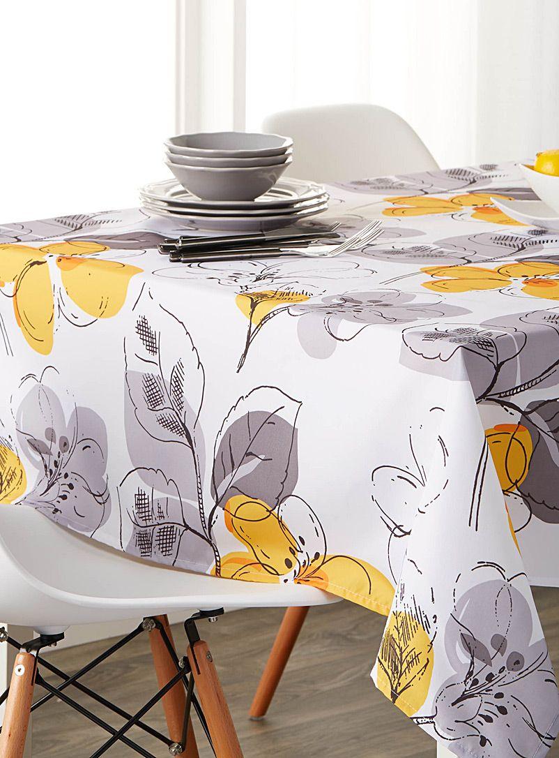 Sunny Bouquet Tablecloth Home Decor Table Home