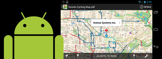 PDF Maps (beta) for Android Avenza PDF Maps Map geo