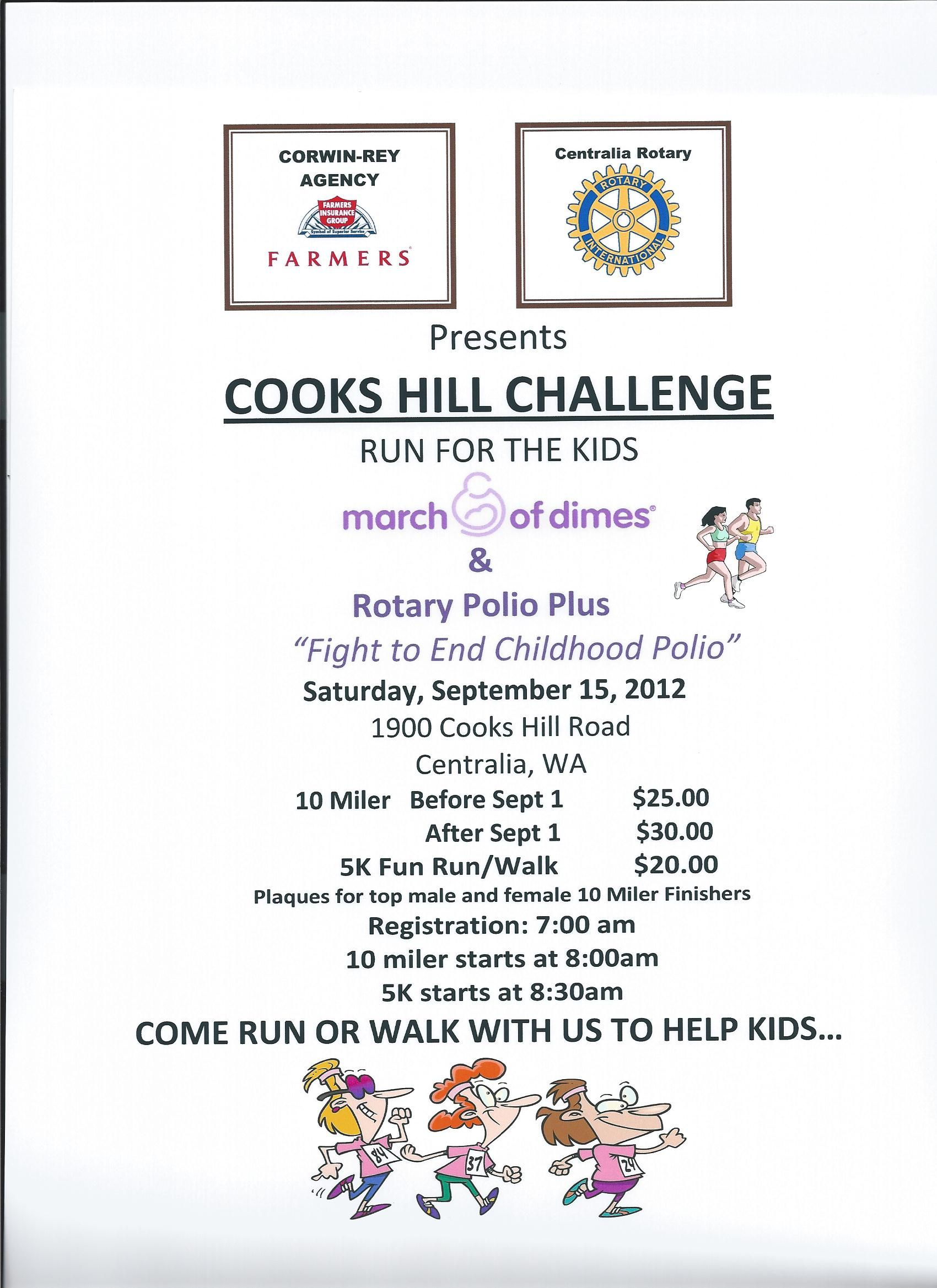 We are honored to be a cosponsor for the Cooks Hill