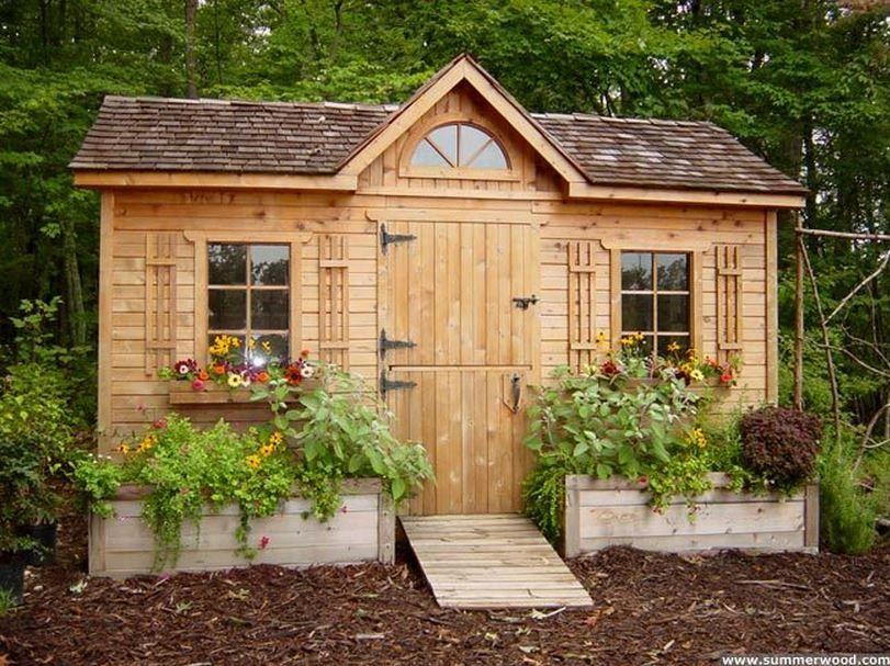 In The Garden: 25 Charming Garden Sheds