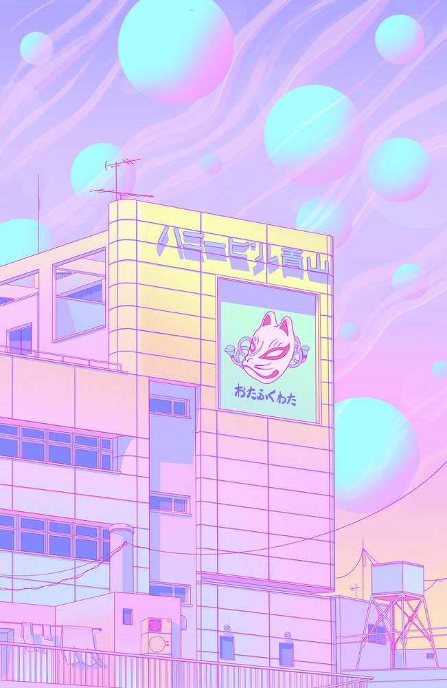 Harajuku Soda Pop Mini Art Print