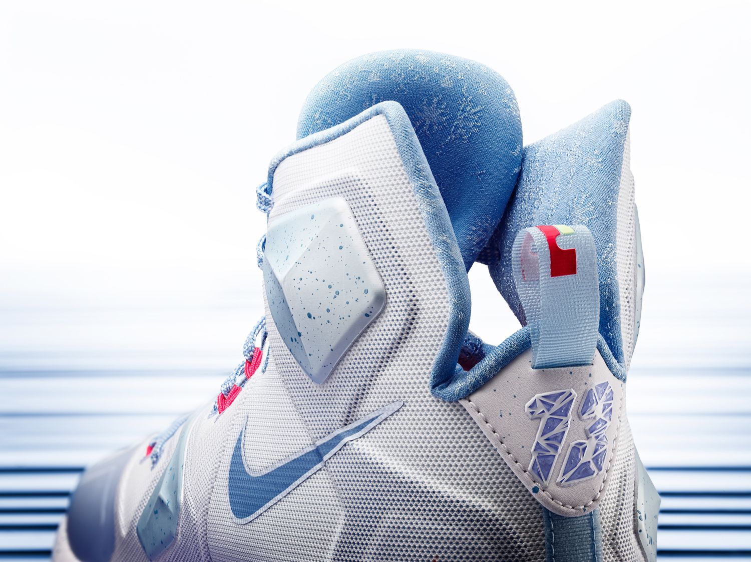 Nike LeBron 13 \'Christmas\' Embraces the Midwest Winter | sneakerhead ...