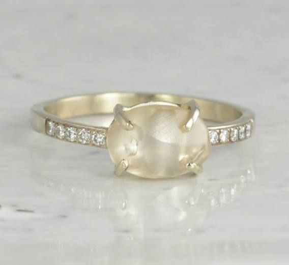 rough diamond ring - Google Search