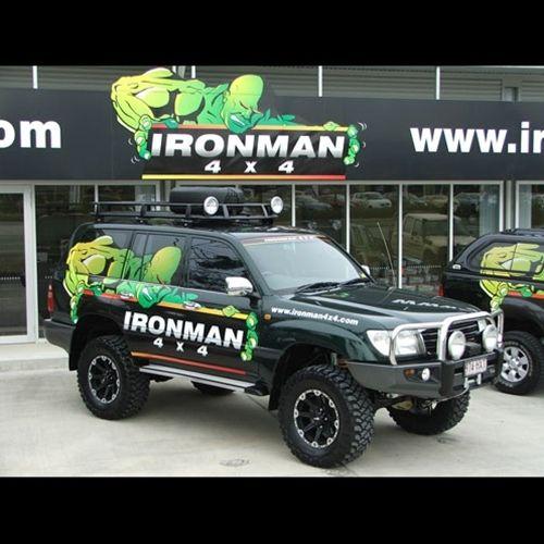 Ironman 4x4 Protector Bull Bar For 100 Series Land Cruiser Lx470 Land Cruiser Toyota Land Cruiser 100 Overland Truck