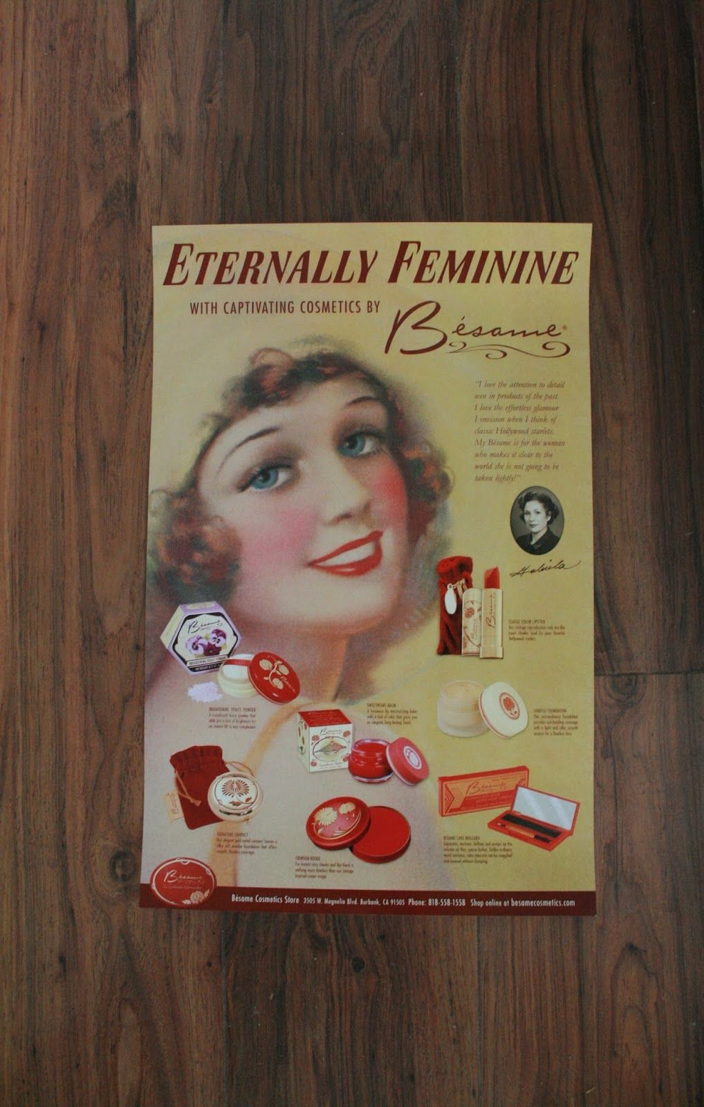 besame cosmetics poster i have this same one looks gorg on poster my wall id=73791