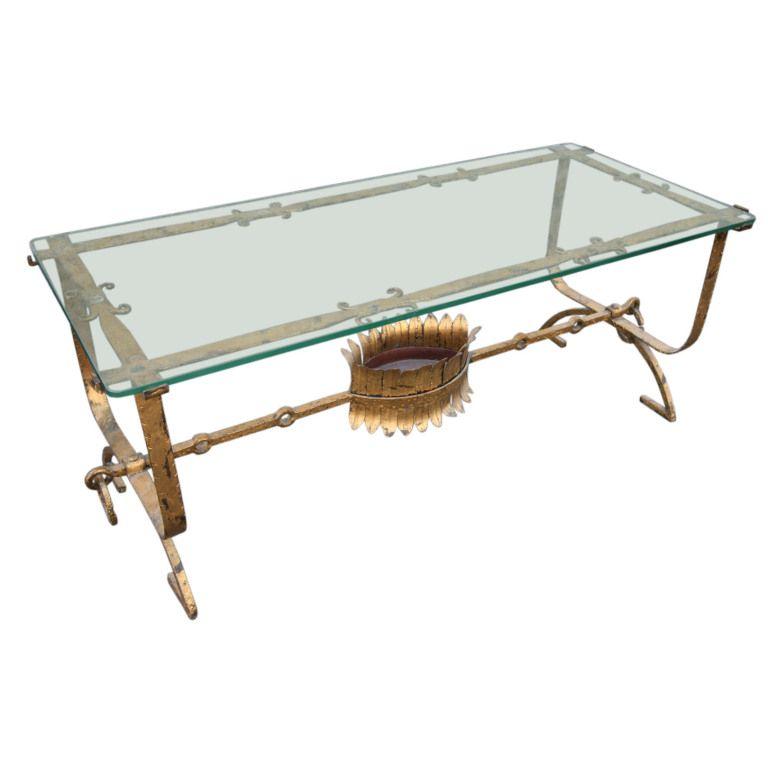 1930u0027s Italian Gilded Coffee Table