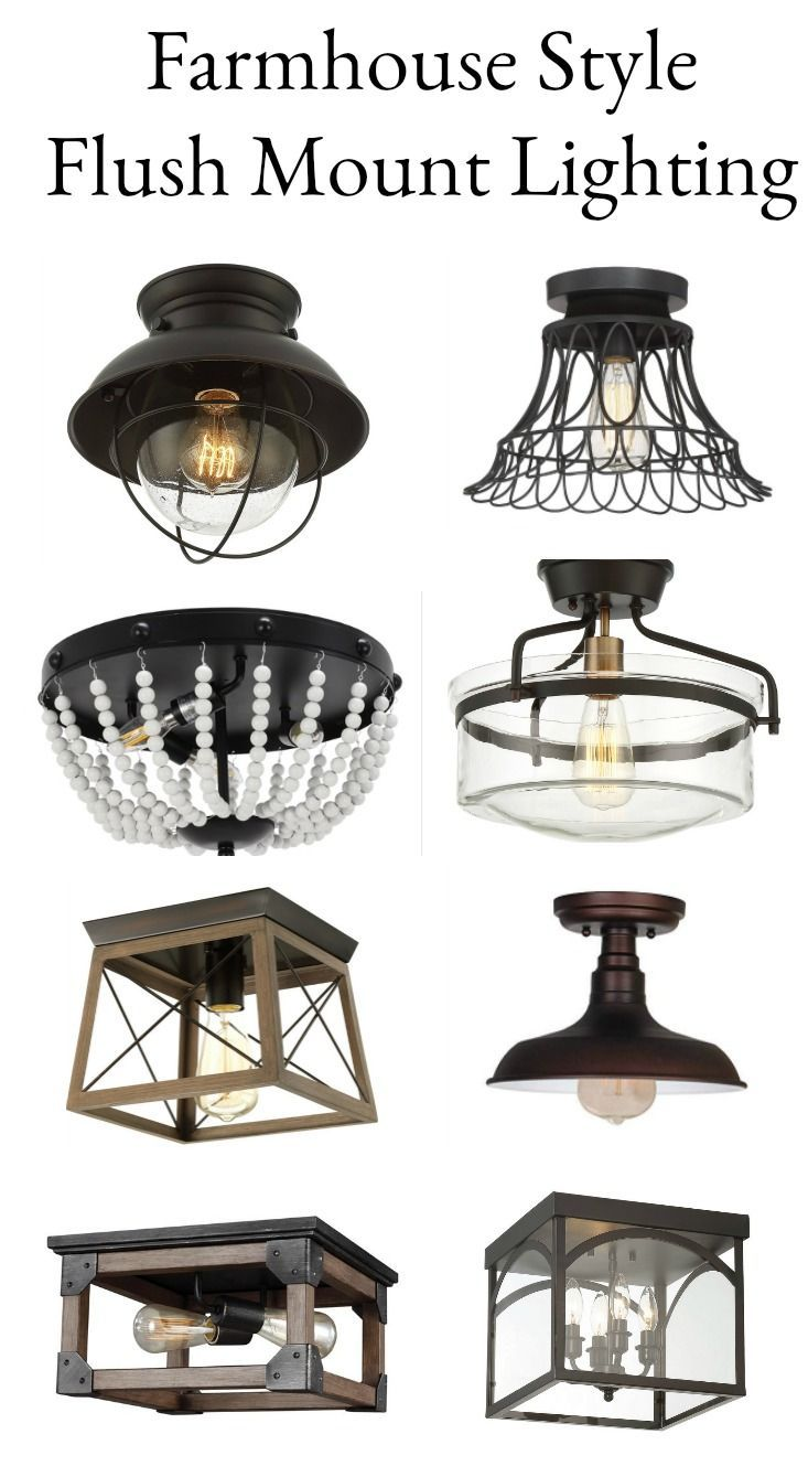 Farmhouse Lighting Style