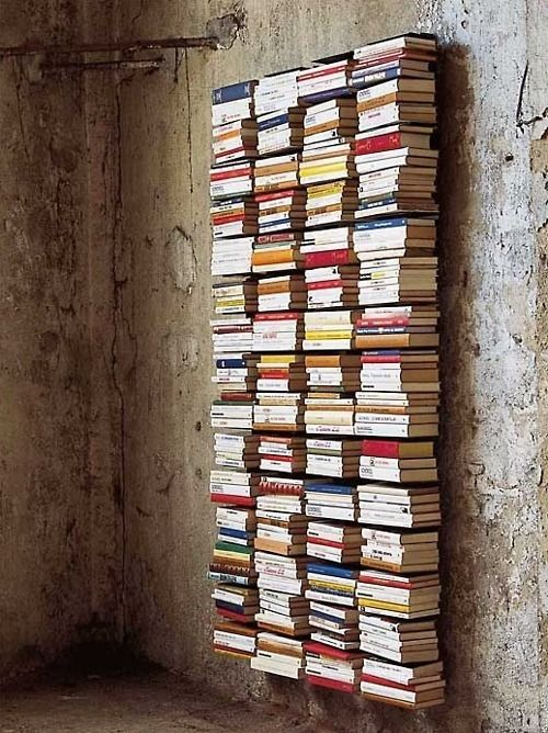 DIY inspiration: invisible bookcase (via How to Decorate ...