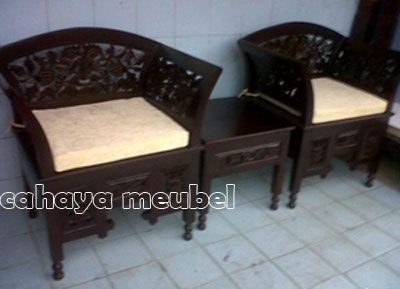 Kursi Teras Ukir Jati  #KursiTeras Kursi Teras Ukir Jati #furnitureonlinestore