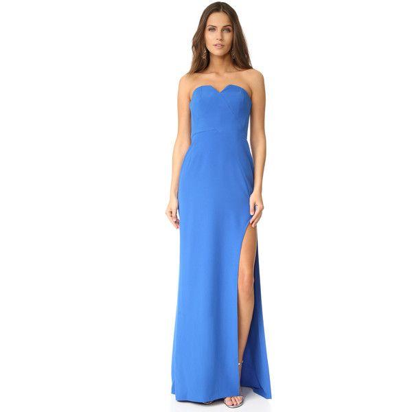 Strapless dress · Halston Heritage ...