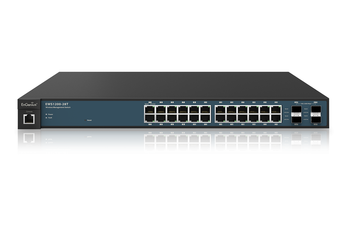 Ews1200 28t Manage Smart Switch Managed Switches Engenius Smart Switches Gigabit Switch Smart