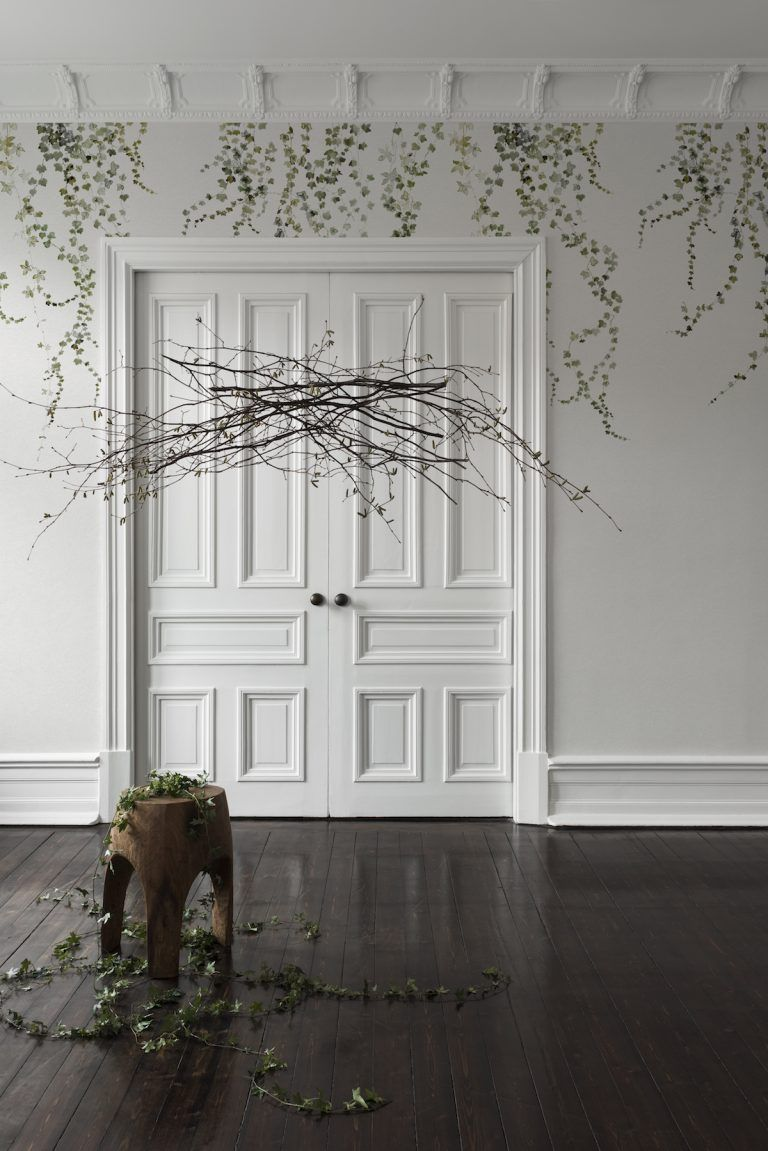 Botanical statement walls the fastest growing interiors