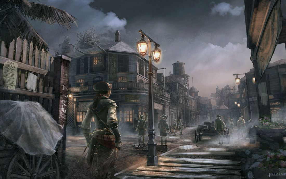 Assassin S Creed Black Flag Port Cerca Con Google Assassins