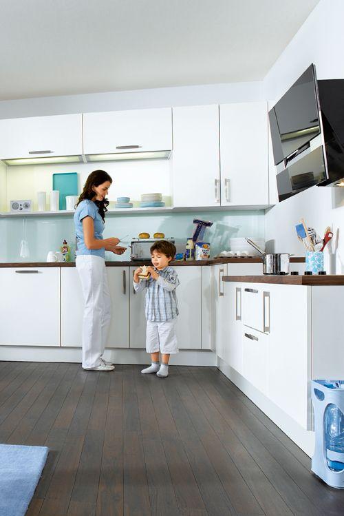 Klare Farben und Linien So entsteht eine Küche mit viel Raum zum - küche farben ideen
