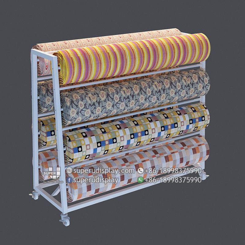Custom Retail Rug Carpet Roll Display Rack Stand For Retail Shop Store Display Design Manufacturer Suppliers Rugs On Carpet Store Display Design Shop Fittings