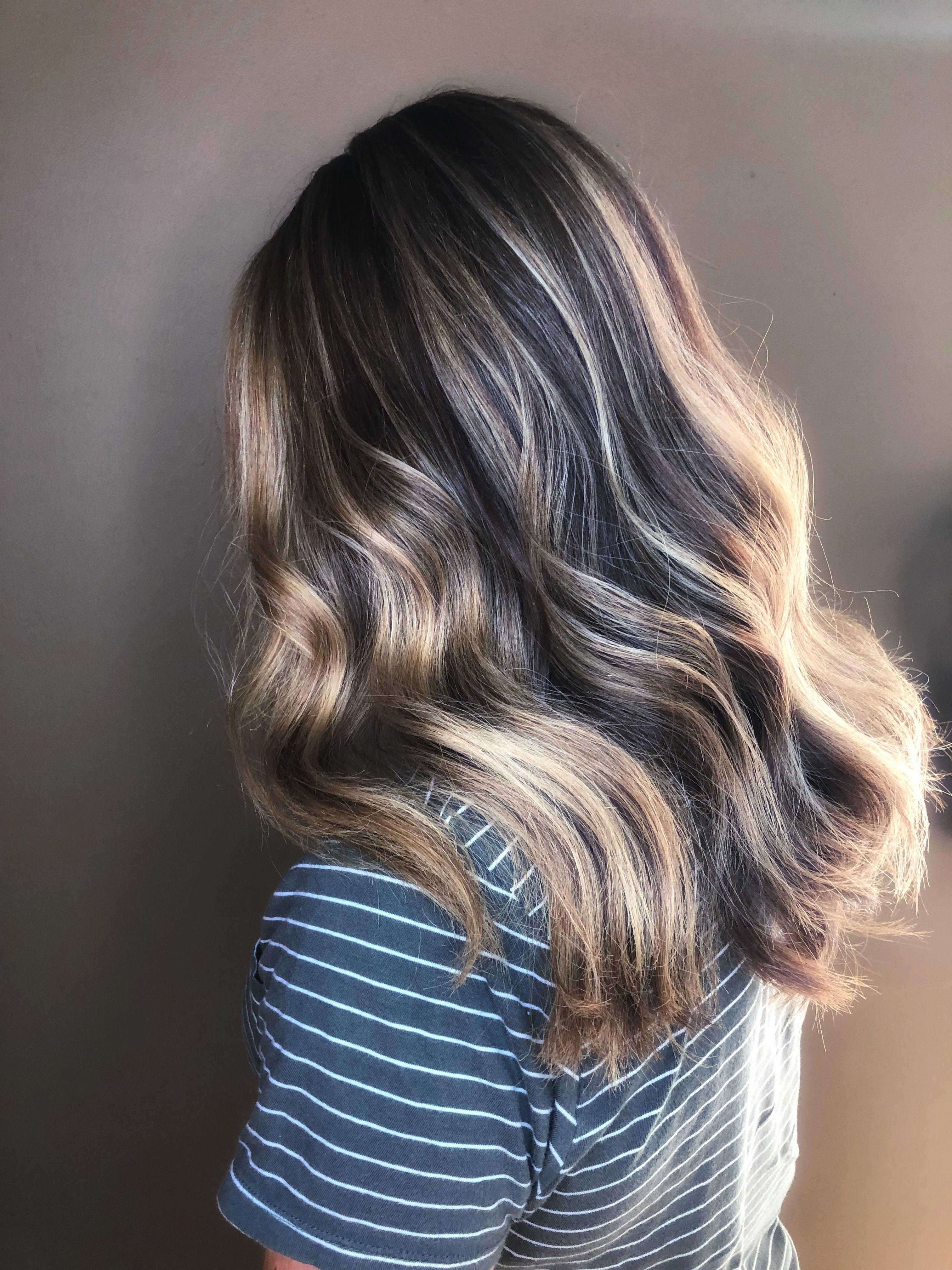 Dark base and blonde highlights blonde by nuance pinterest