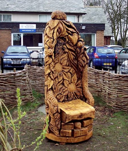 The best tree carving ideas on pinterest wood