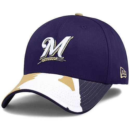 Milwaukee Brewers Swing Batter 39THIRTY Stretch Fit Cap by New Era - ONLINE  EXCLUSIVE - MLB.com Shop a2a2c1c654be