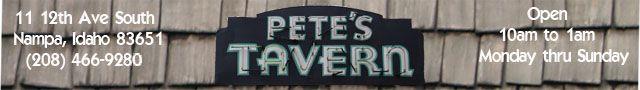 Pete's Tavern Nampa