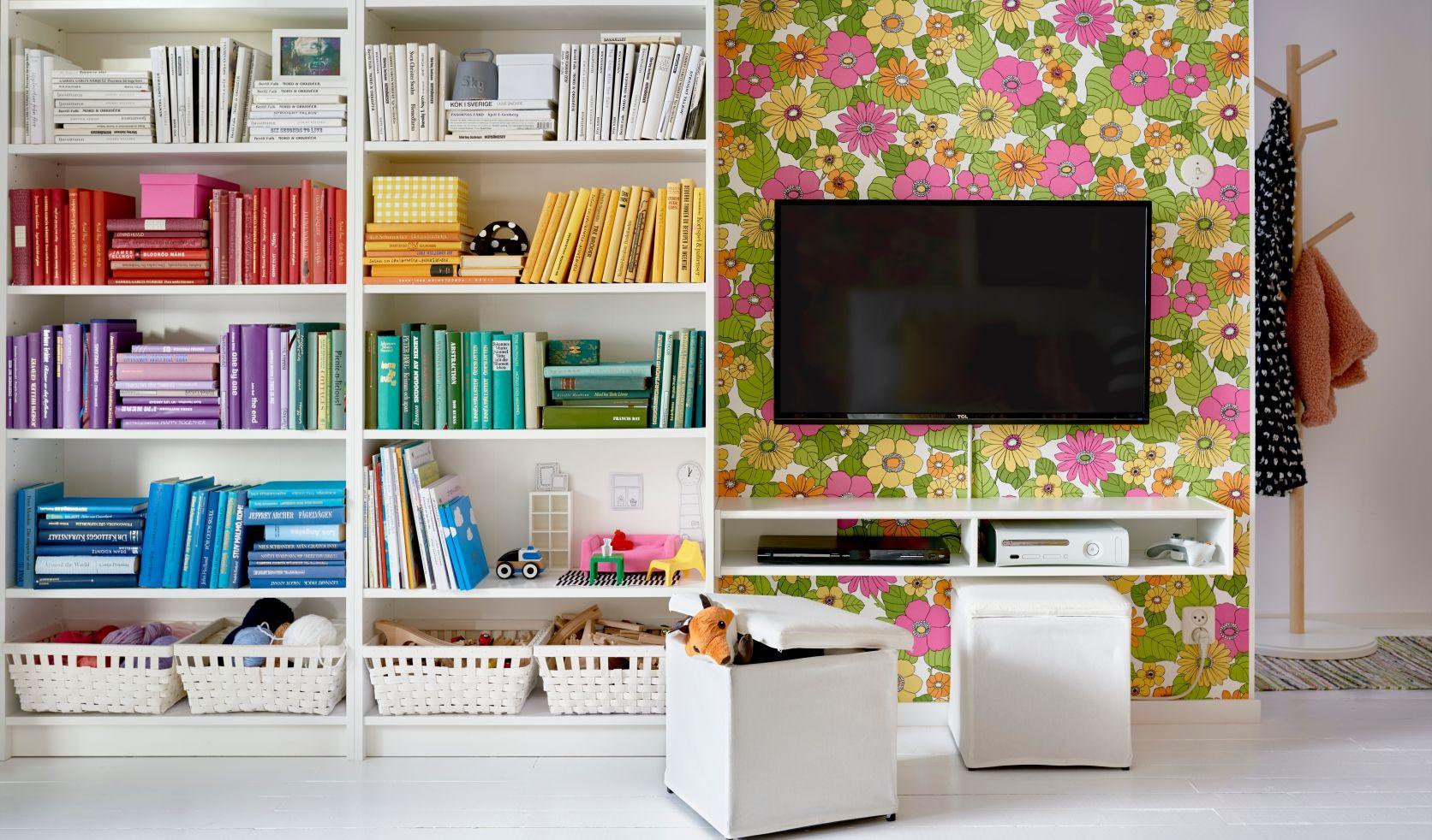 BILLY Boekenkast, wit | Ikea billy, Room set and Catalog