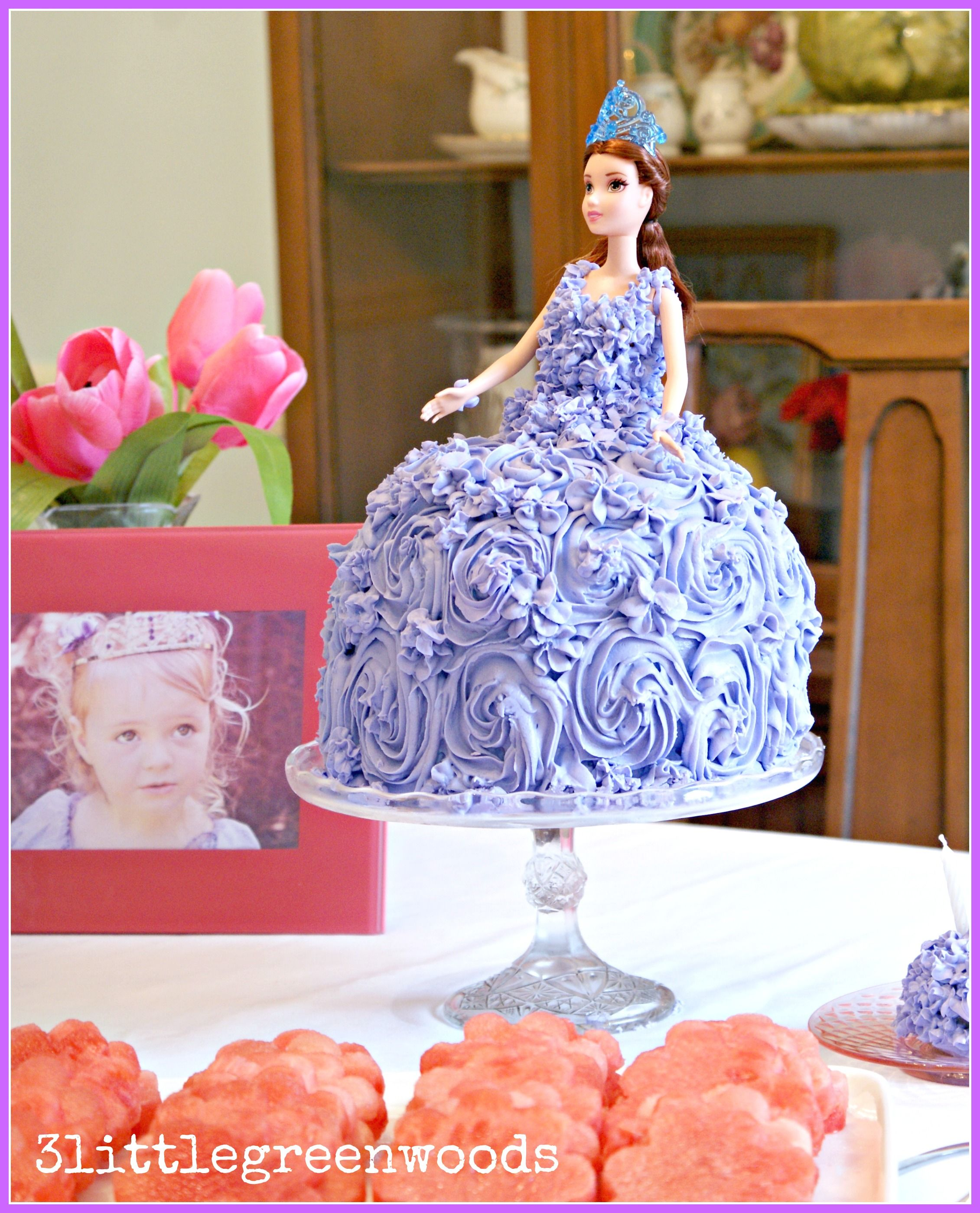 Princess Cake for a Sofia the First Birthday Party Princess sofia