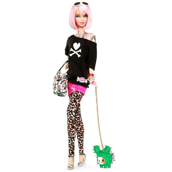 "Tokidoki presenta la ""Barbie tokidoki"" e la collezione di... ❤ liked on Polyvore featuring barbie, toys, dolls, kids and pictures"