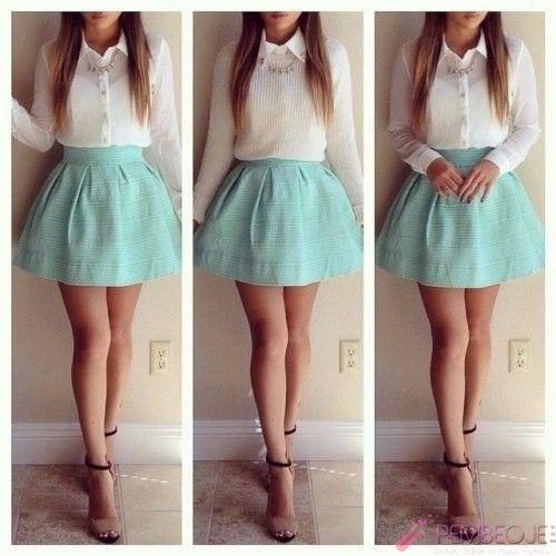 7332644443e32 genç kız giyim tarzı elbise modelleri (18) | kıyafetler-3 | Moda ...