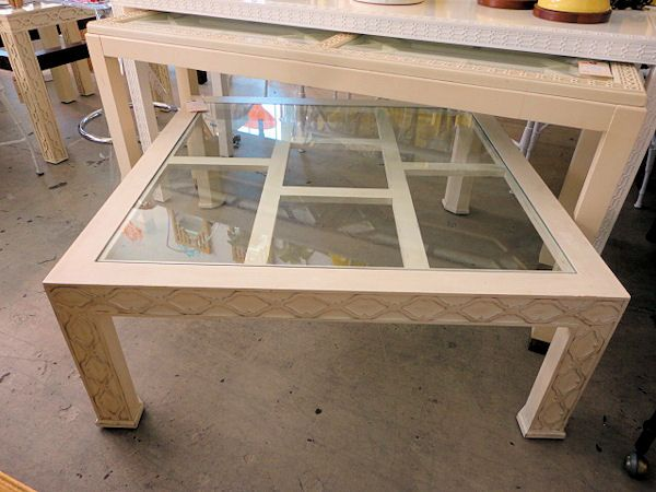 Fretwork Coffee Table.Fretwork Coffee Table By Henredon For The Family Room Circa Who