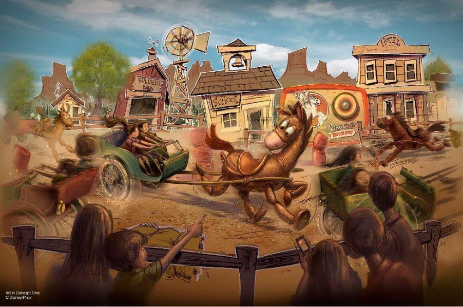Shanghai Disneyland expansion: Disney Toy Story Land unveiled ...