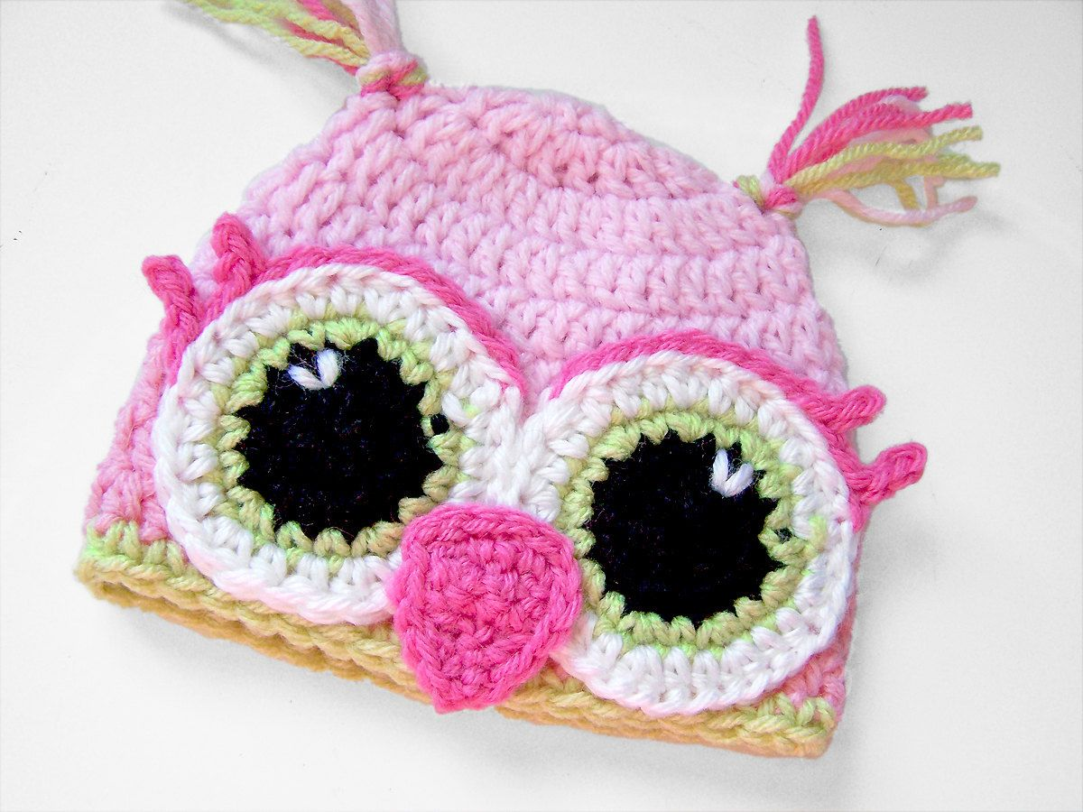 Lil owl hat baby hat crochet baby hat photo prop for lil owl hat baby hat crochet baby hat photo prop for bankloansurffo Image collections
