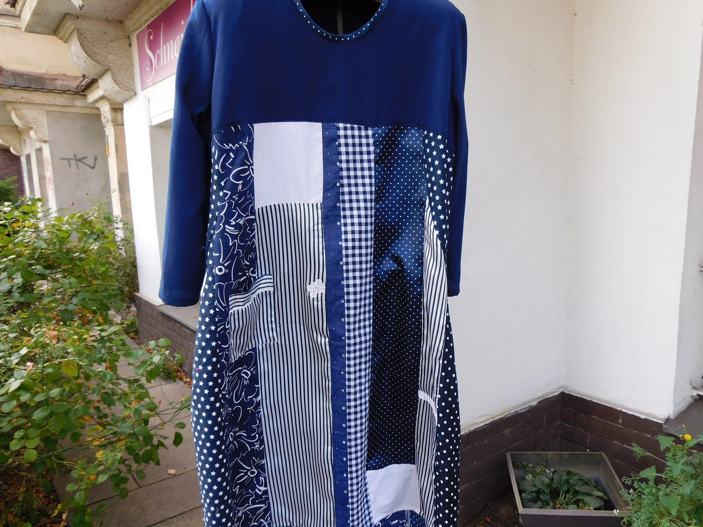 Blaues kleid gr 46