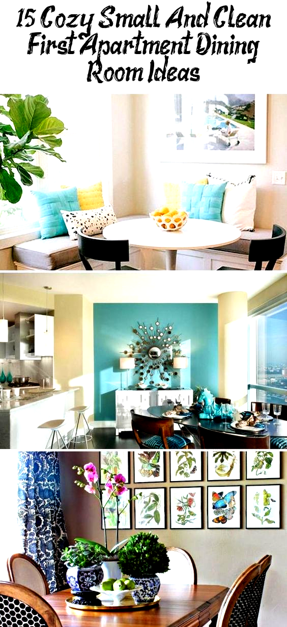 15+ Cozy Small and Clean First Apartment Dining Room Ideas #apartmentgardening #apartmentdecor #apartmentideas #apartmentdecorHipster #Smallapartmentdecor #apartmentdecorBathroom #apartmentdecorContemporary #apartmentdecorBoho
