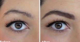 how to grow eyebrows back naturally