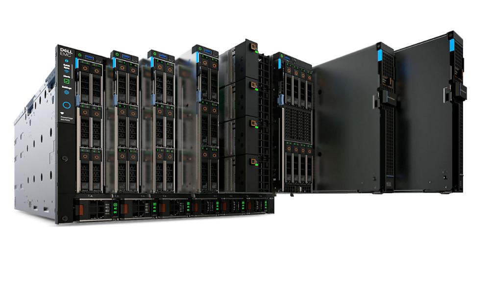 Bộ khung máy chủ phiến cho máy chủ ảo PowerEdge MX7000