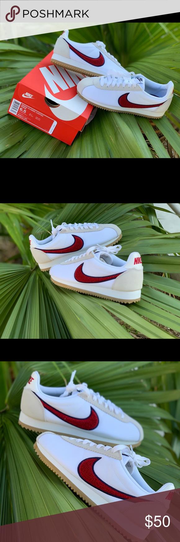 Women Chenille Nike Classic Cortez 100