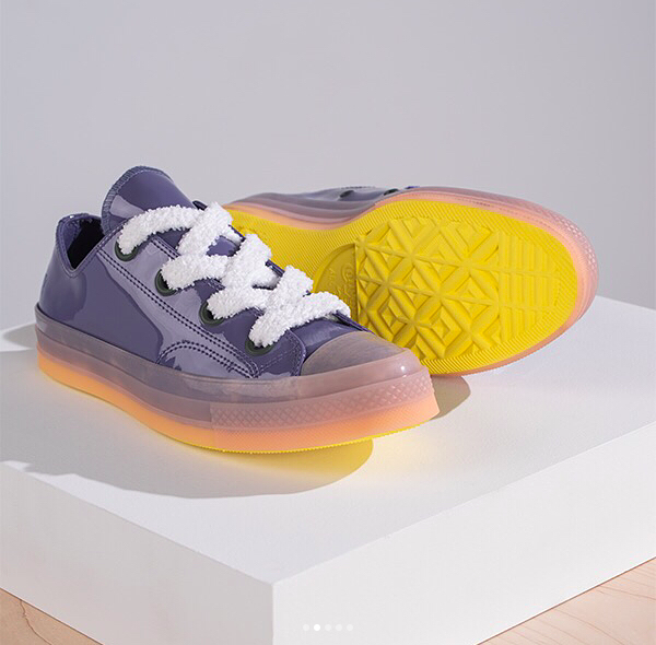 CONVERSE X JW ANDERSON PATENT LEATHER