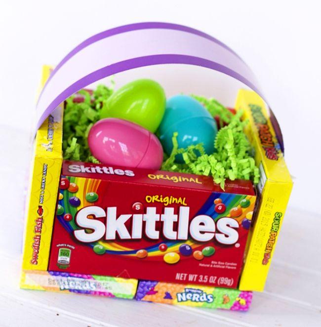 Diy candy easter basket candy gift baskets gift and crafty diy candy easter basket negle Gallery