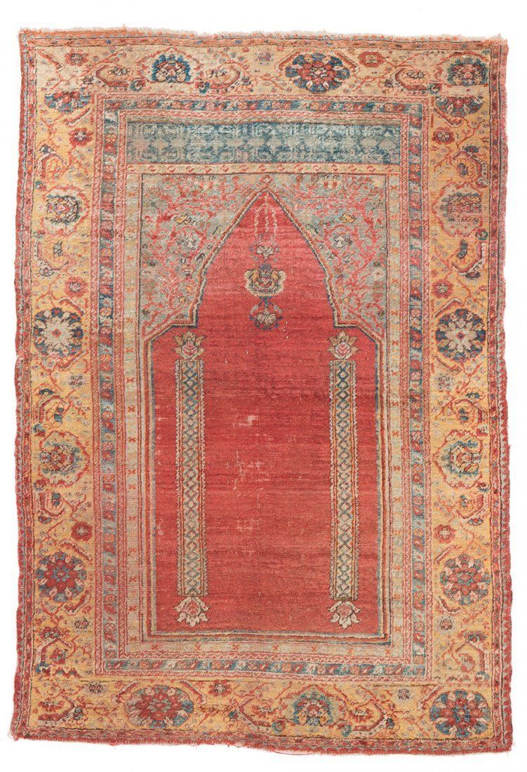 Ushak Double Sided Usak Oushak Rug Turkish Carpet
