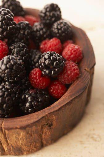 Need berries in anti-aging health