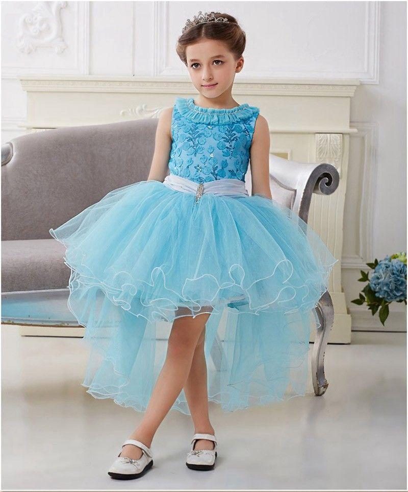 Fantasia Halloween Fantasy Party Princess Kids Dress Elsa And Anna ...