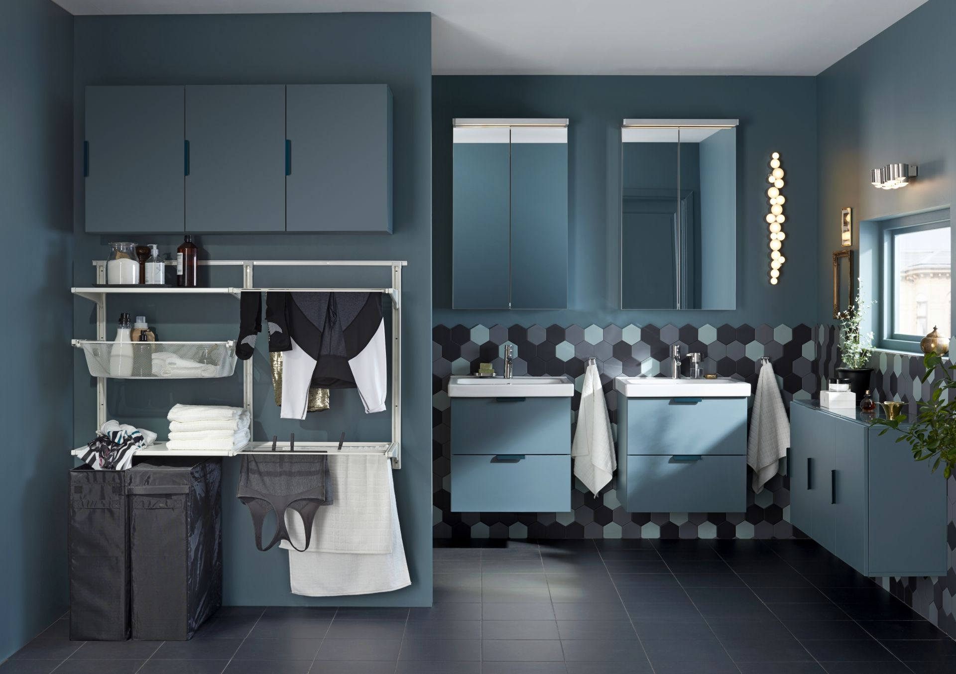 Ikea Badkamer Bovenkast : Godmorgon spiegelkast met deuren ikea catalogus laundry