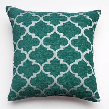 Lattice Decorative Pillow-at Kohls-in yellow and orange also!