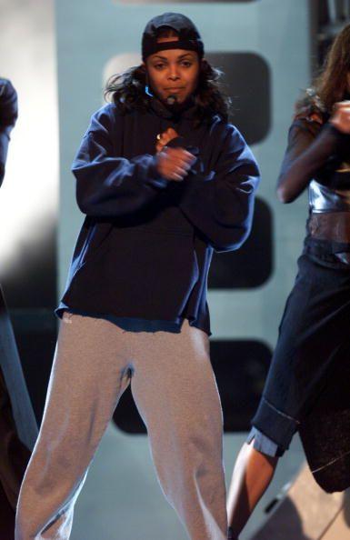Janet Jackson, MTV Video Awards rehearsal, 2000