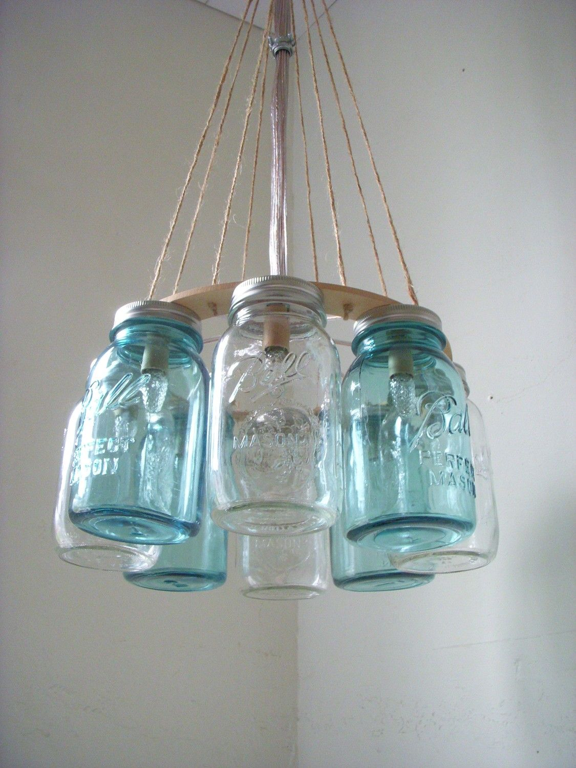 Western Wear Wagon Wheel Clear And Ocean Blue Quart