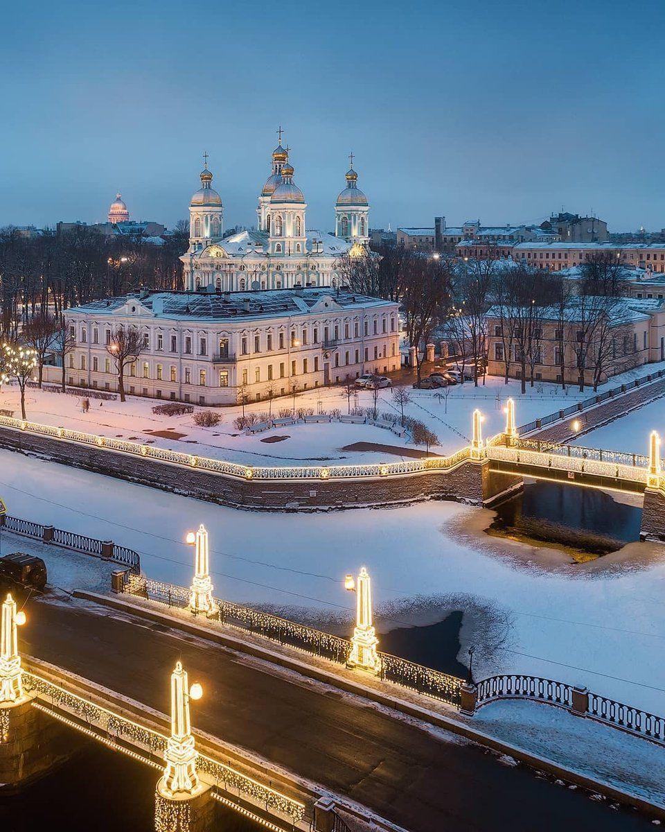 красивое место для фото зимой в спб двухкомнатную