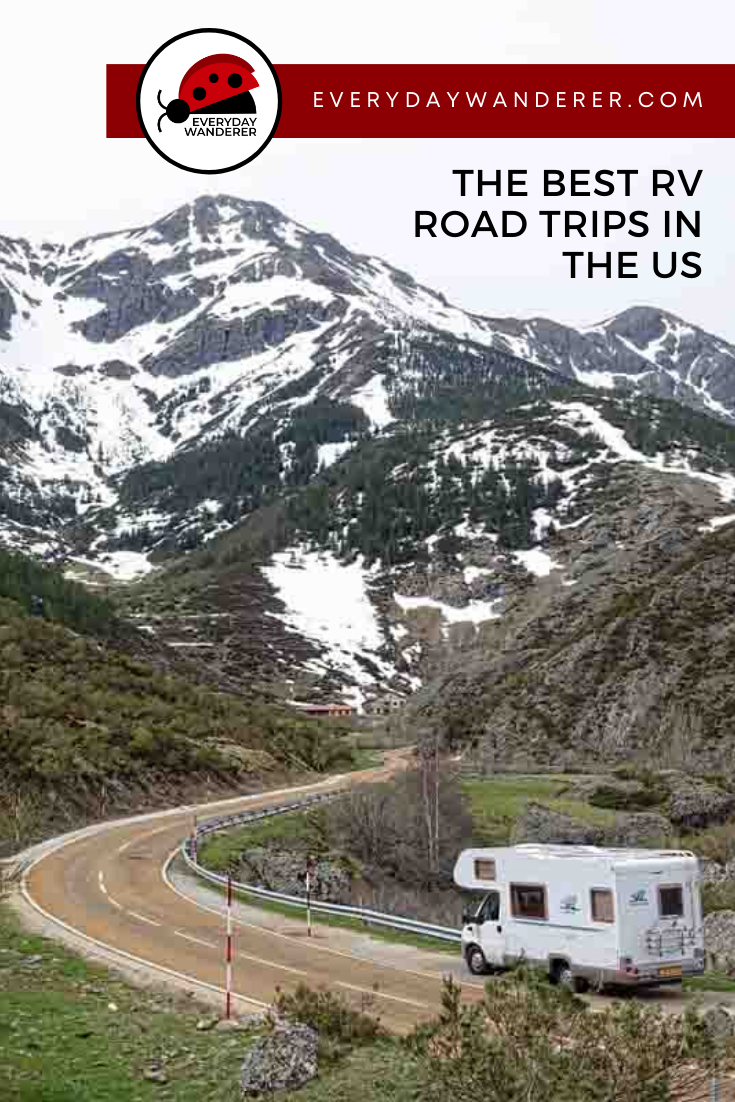 RV travel tips and tricks for your first RV trip in the US. Find inspiration to fuel your RV trip planning in the United States. Get RV trip routes in the United States. Be sure you have an RV camping checklist, plenty of food ideas, and these essentials and necessities for your RV camper. #US #USA #USTravel
