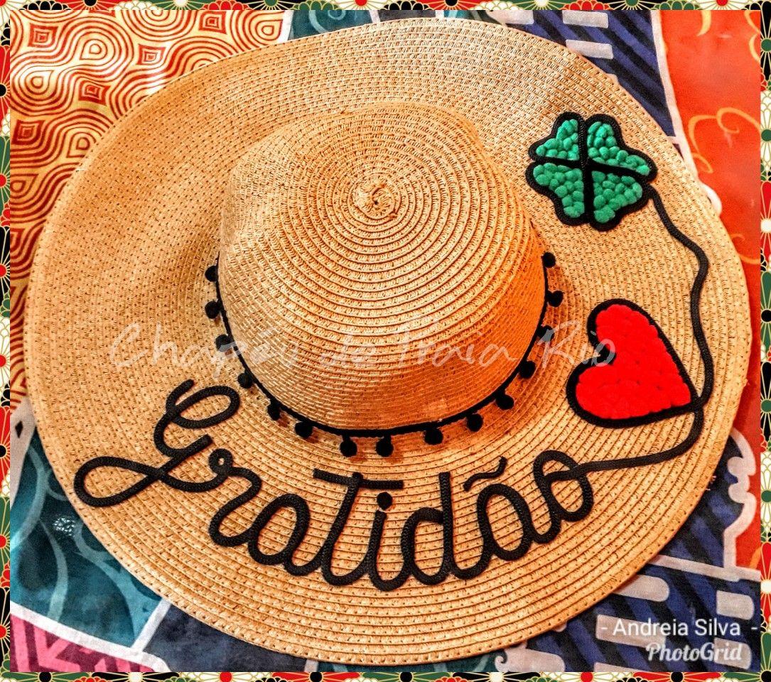 9da58d3e9bae Chapeus Carnaval, Carnaval Brasil, Chapéu De Praia Personalizado, Bolsa  Palha, Flor De